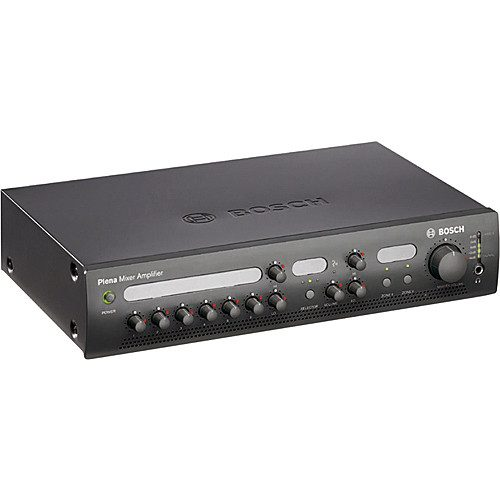 Bosch Plena Easy Line 120 Watt Mixer Amplifier, 2 Zones
