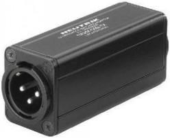 Univox Accessory Neutrik NA2M-D0B-TX, Mini transformer adapter, XLR