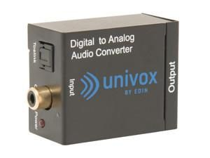 Univox Accessory D/A converter, optical cable included