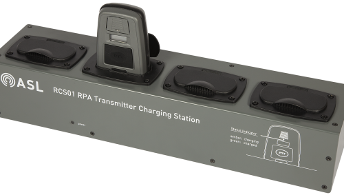 ASL RMIC Radio Microphone Battery Charging Station - 4 Way