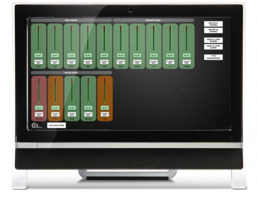 BLAcoustics BLA86 Series Tenant Care Touchscreen Controller