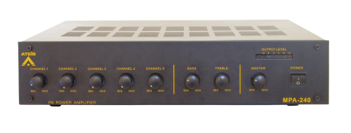 Ateis MPA 240w Table-top Mixing Amplifier