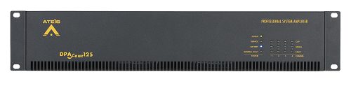 Ateis DPA 4x125w Bridge Power Amplifier, Rackmount