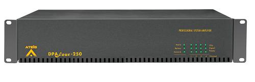 Ateis DPA 4x250w Bridge Power Amplifier, Rackmount