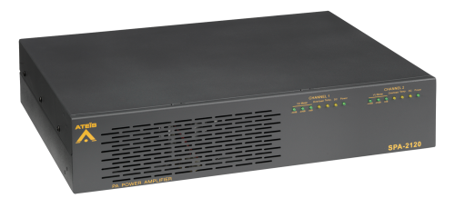Ateis SPA 2x120 Standard Power Amplifier, Rackmount