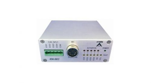 Ateis IDA8 Security Console Interface for SHM-1 and PM1