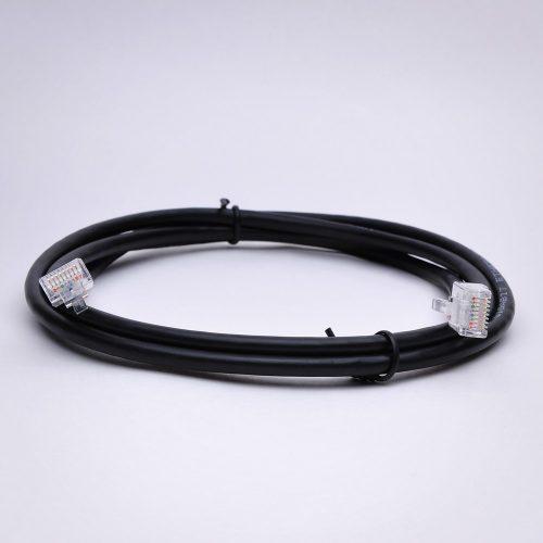 Cambridge Sound QT Black 75 ft plenum rated cable