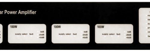 ASL V400 Front Panel For V400 Amplifier Mainframe - 4*M100