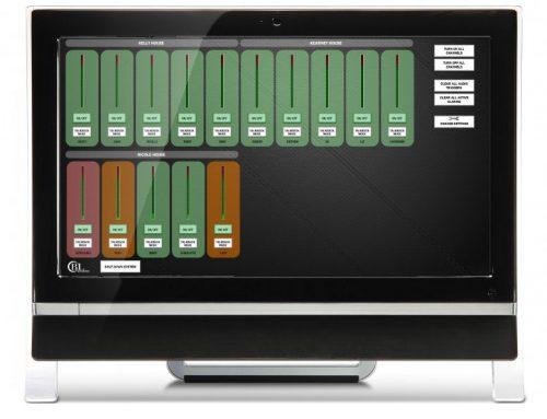 BLAcoustics BLA86 Series Tenant Care Touchscreen Controller