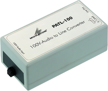 Univox Accessory PATL-100, 100V-audio to line converter