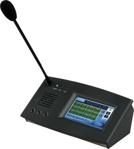Ateis IDA8 Colour Touchscreen Paging Console